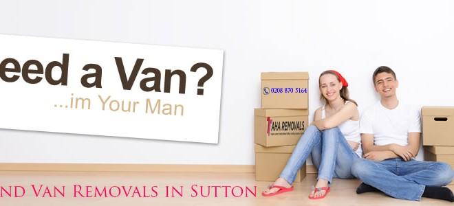 man and van sutton